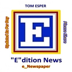 THOMAS J. ESPER The Best e_Newspaper: TOM ESPER e_dition News |  The Top Editor-Collected News and Stories 2x DAY!  Link Thumbnail | Linktree