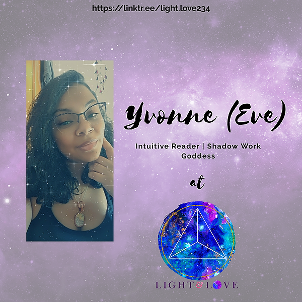 Yvonne (Eve)   Light & Love (light.love234) Profile Image   Linktree