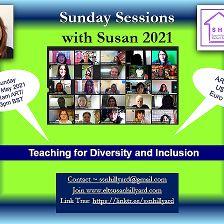 @ssnhillyard Sunday Session with Susan May Teaching for Diversity and Inclusion Link Thumbnail | Linktree