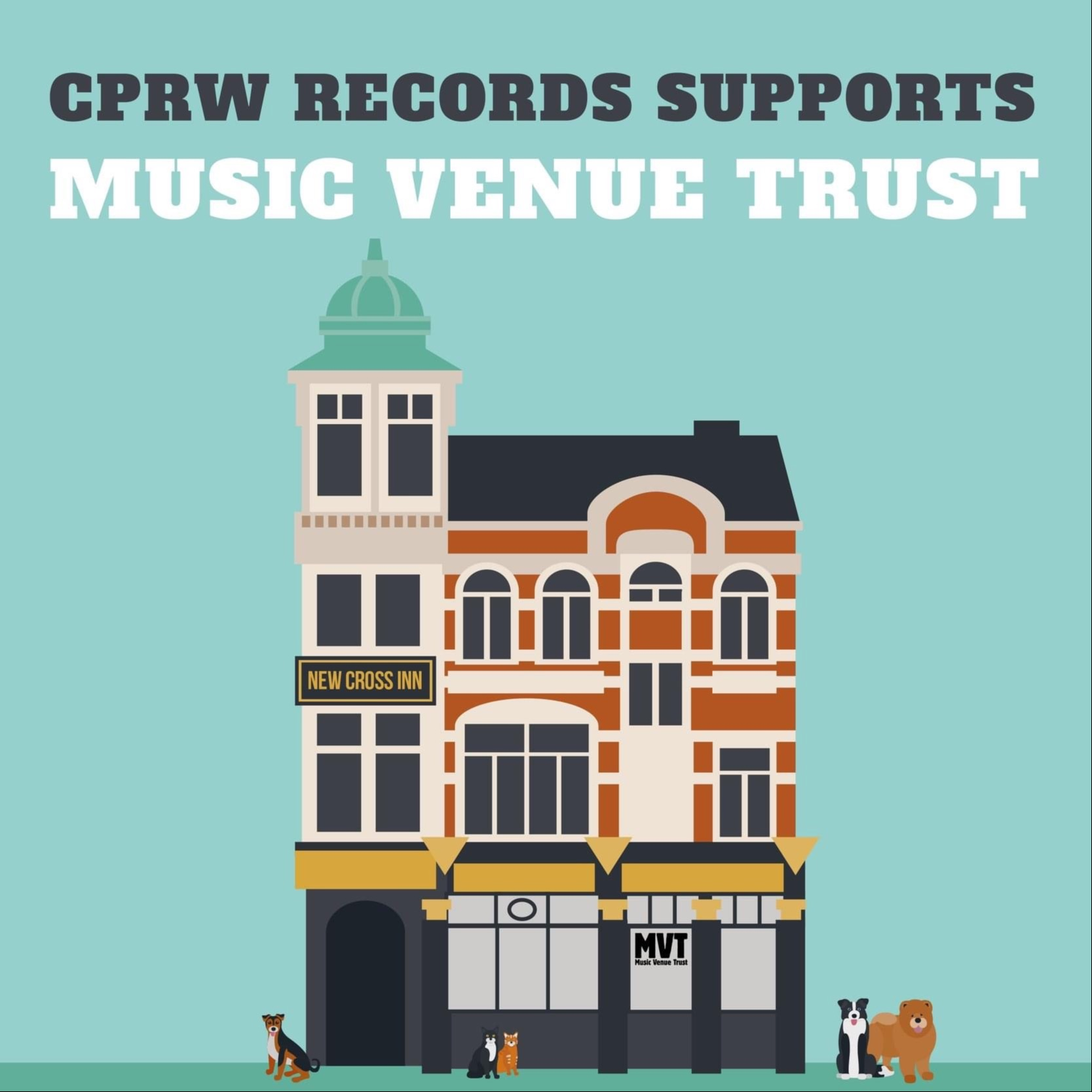 CPRW Records Supports Music Venue Trust