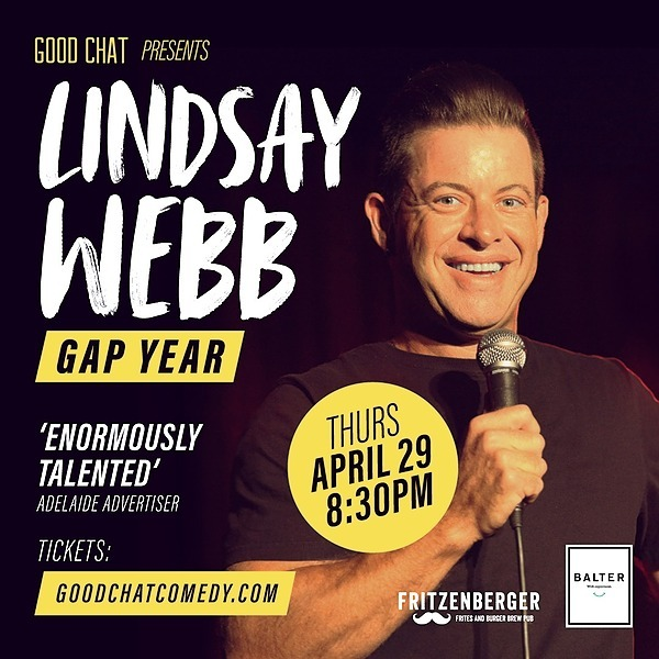 Get tickets to Lindsay Webb | Gap Year [April 29]