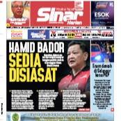 @sinar.harian Hamid Bador sedia disiasat. Link Thumbnail | Linktree
