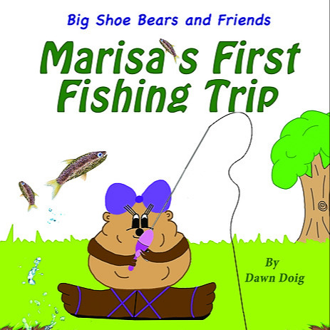 Marisa's First Fishing Trip (English): An educational fishing adventure with Grandpa.