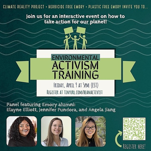@EmoryClimateRealityProject Environmental Activism Training Recording Link Thumbnail | Linktree