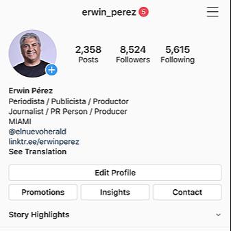 @erwinperez Instagram Erwin Link Thumbnail | Linktree