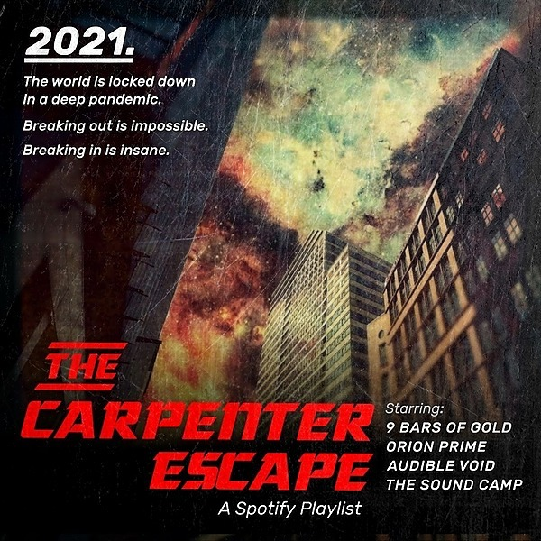 @TheSoundCamp The Carpenter Escape   The Spotify Playlist Link Thumbnail   Linktree