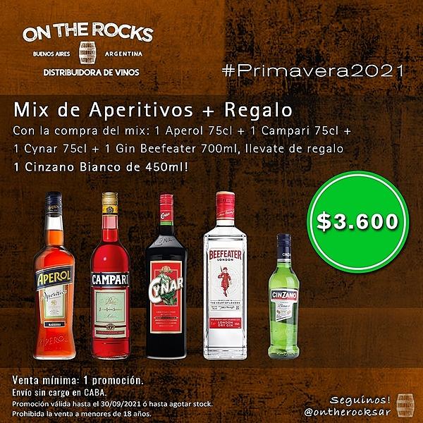 ON THE ROCKS AR 📢 PRIMAVERA APERITIVOS! Link Thumbnail | Linktree