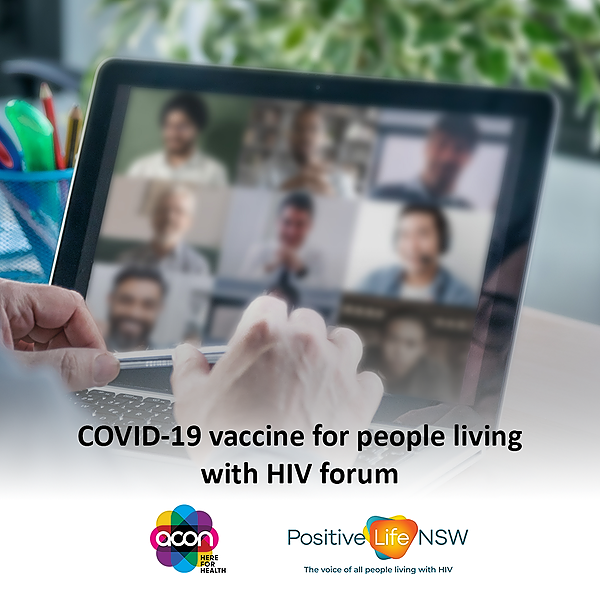 @ACONhealth COVID-19 Vaccination Forum for People Living with HIV Link Thumbnail   Linktree