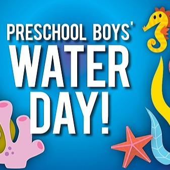 Preschool Boy's Water Day