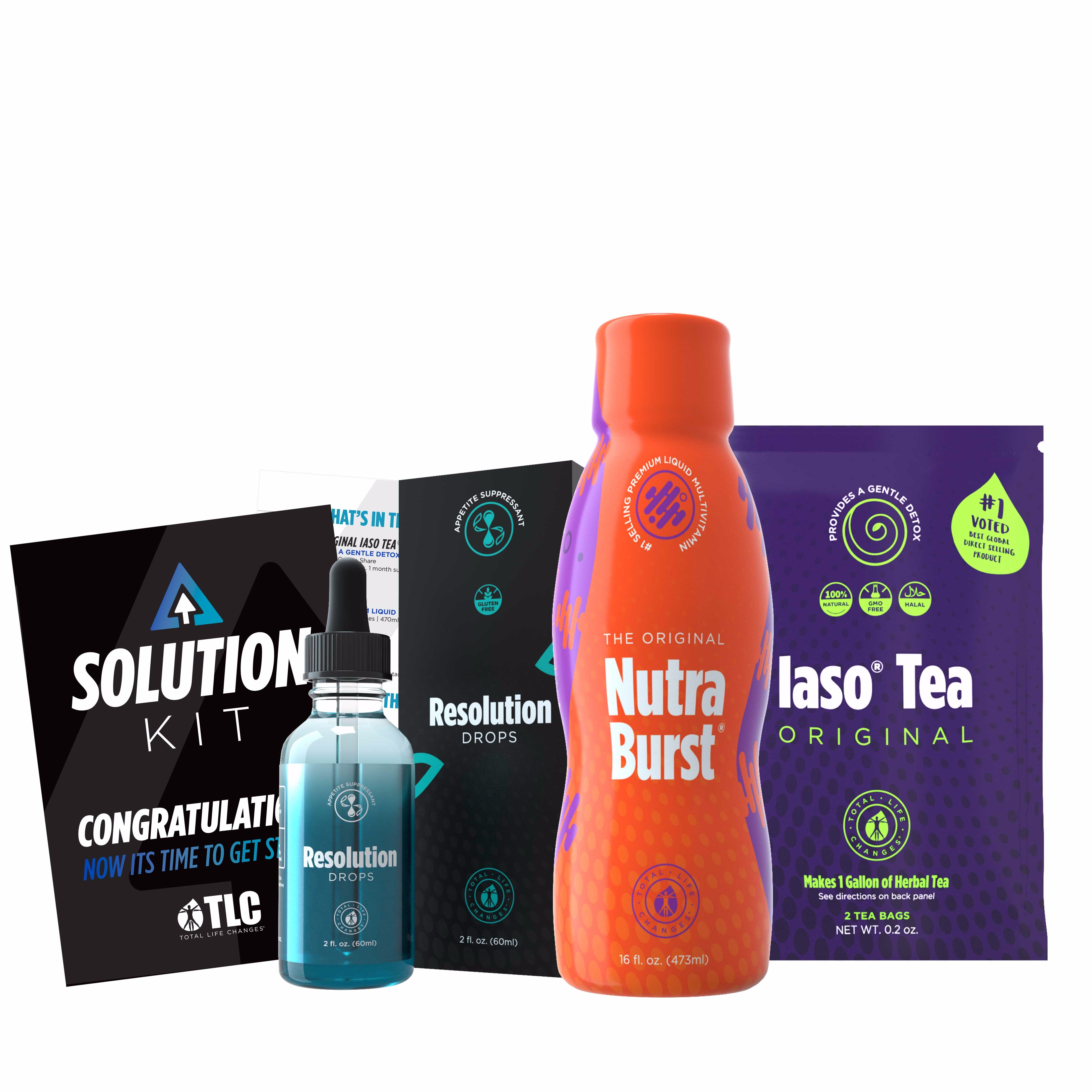 SOLUTION KIT- #1 KIT + FREE Meal Guide + Personal Coaching