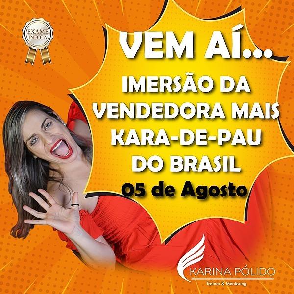 @karadepaucomka IMERSÃO DE VENDAS DA VENDEDORA MAIS-KARA-DE-PAU DO BRASIL Link Thumbnail   Linktree