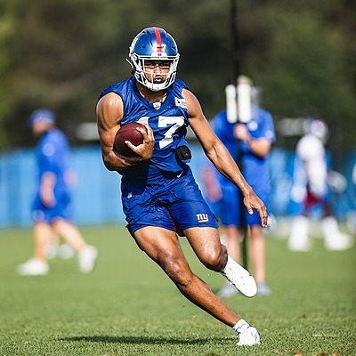 Giants Country Rysen John, TE - 2021 Giants Training Camp Preview (Photo by Giants.com) Link Thumbnail   Linktree