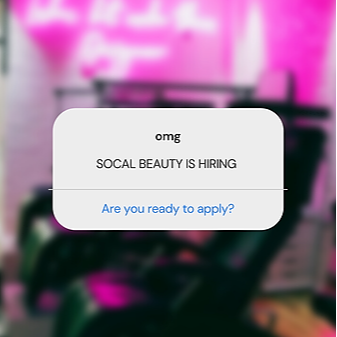 @socalbeauty Career Positions Available Link Thumbnail | Linktree
