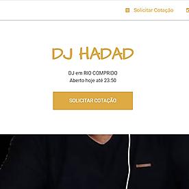 DJ HADAD Site Oficial  Link Thumbnail | Linktree