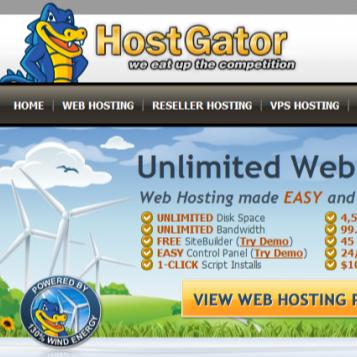 HOSTGATOR WEBHOSTING FOR WORDPRESS