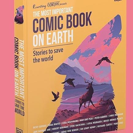 Ritchi Edwards Rewriting Extinction Comic Book  Link Thumbnail | Linktree