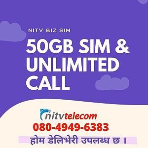 @nitv  SIM 50GB DATA & UNLIMITED CALL  Link Thumbnail   Linktree