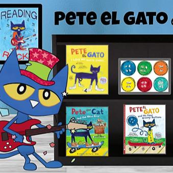 Pete el Gato Library en Español