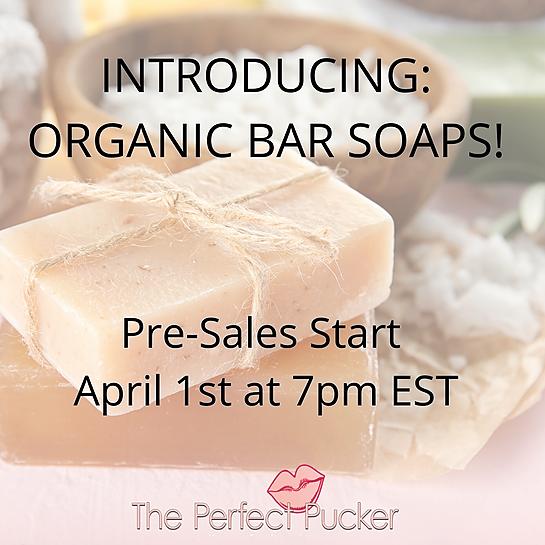 @ThePerfectPucker INTRODUCING ORGANIC SOAPS!  Link Thumbnail | Linktree