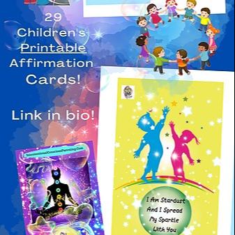 @carollawrence 29 Printable Kids Affirmation Cards Link Thumbnail   Linktree