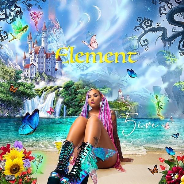 @Iam5ive Amazon Music New Album - Element Link Thumbnail | Linktree