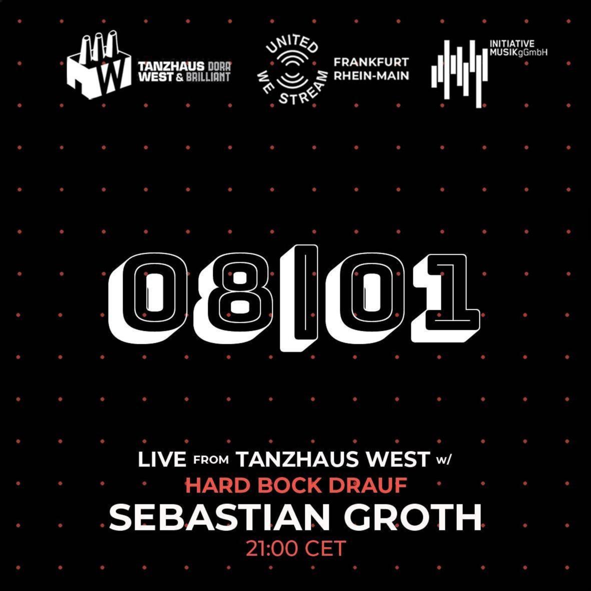 [Stream] Sebastian Groth - United We Stream | Tanzhaus West x Hard Bock Drauf - YouTube