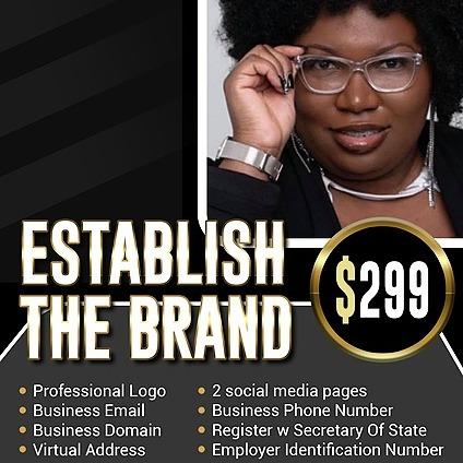 @Tiakeysha Establish The Brand ($299) Link Thumbnail | Linktree