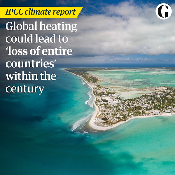 @guardian 'We're not about to back down': how climate experts hold hope despite the IPCC report Link Thumbnail   Linktree