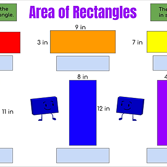Miss Hecht Teaches 3rd Grade Area of Rectangles Link Thumbnail | Linktree