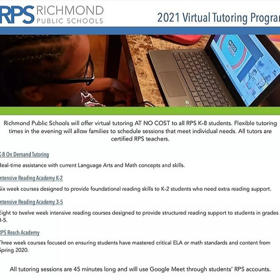 RPS tutoring