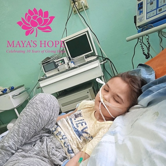 @mayashopefoundation Medical Treatment for Raisa Link Thumbnail | Linktree