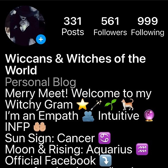Wiccans & Witches of the World Instagram Link Thumbnail | Linktree