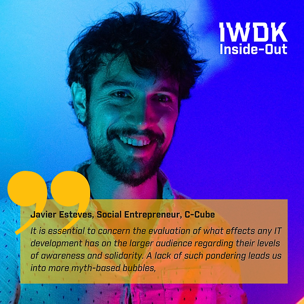 IWDK Inside-Out: Javier Esteves from C-Cube/Aarhus Soup