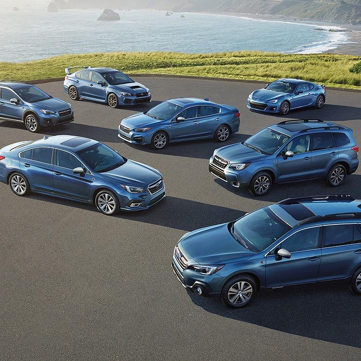 Subaru Top Safety Honors