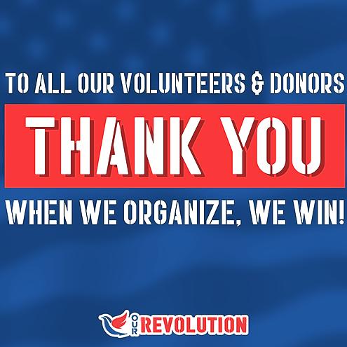Our Revolution Trenton Mercer Support Our Revolution National Network Link Thumbnail | Linktree