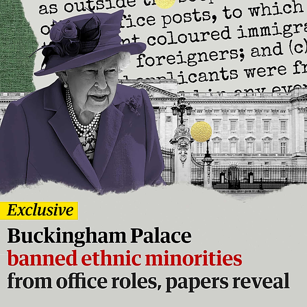 @guardian Buckingham Palace banned ethnic minorities from office roles, papers reveal Link Thumbnail | Linktree