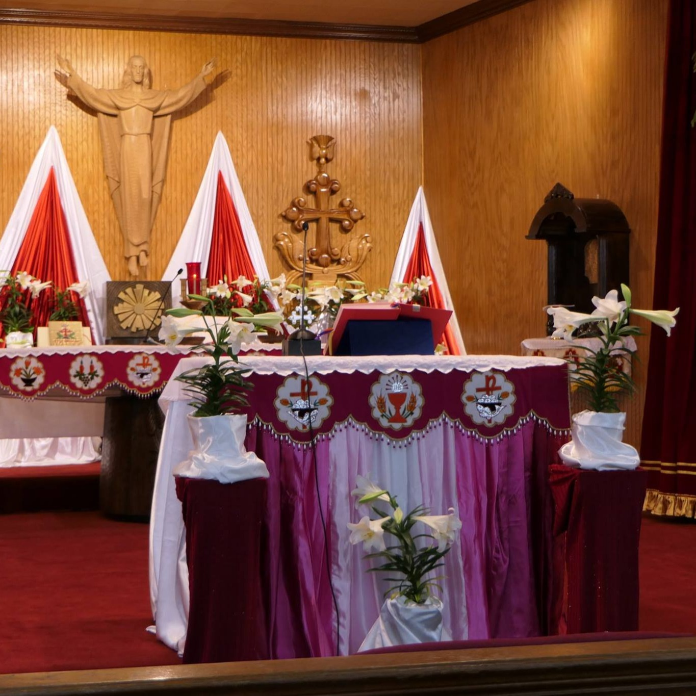 SACRAMENTO, CA- INFANT JESUS PARISH- Mon-Fri: 6:35pm; Sat/Sun: 9:20am PST