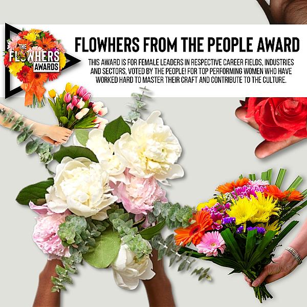Flowhers From The People AWARD