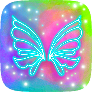 Instagram Filter: Neon Wings