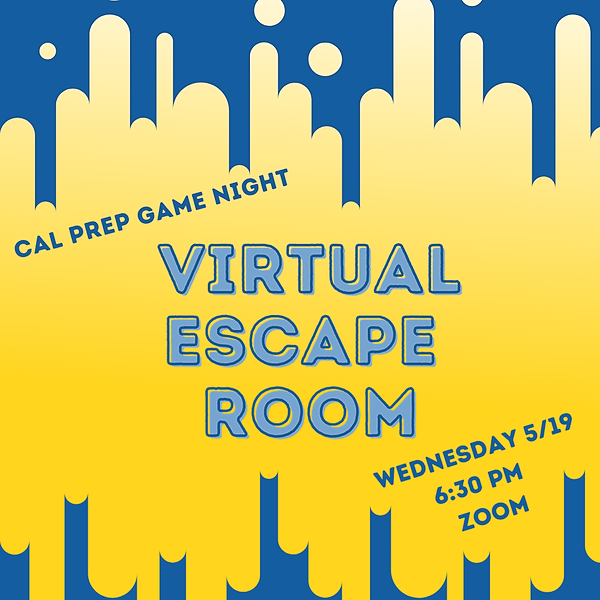 Virtual Escape Room 5/19 @ 6:30 PM