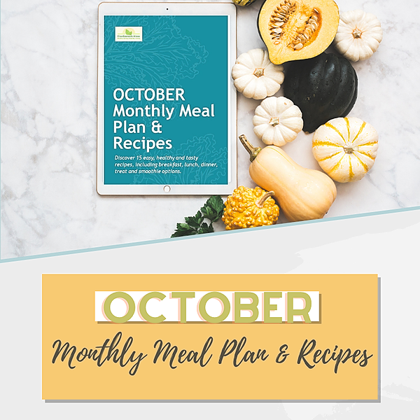 October - Monthly Meal Plan & Recipes