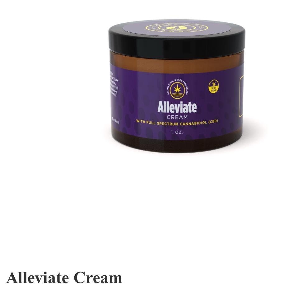 CBD ALLEVIATE cream