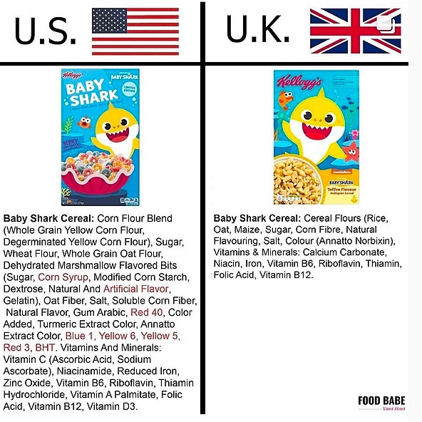 Megan BSNRN @megsnolia SIGN THE FOOD BABES PETITION TO KELLOGGS TO CHANGE INGREDIENTS FOR USA PRODUCTS! Link Thumbnail | Linktree
