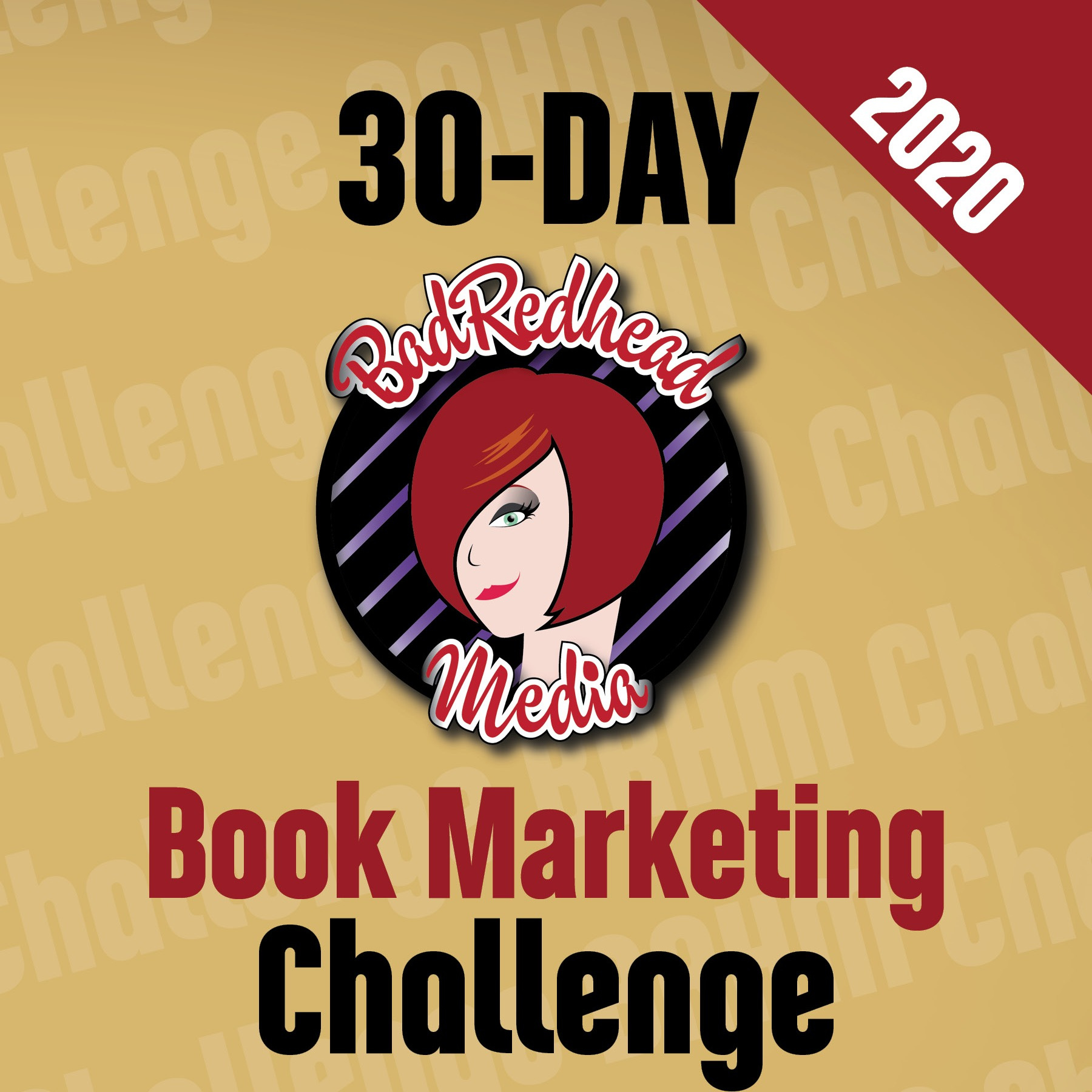 The 2020 BadRedhead Media 30-Day Book Marketing Challenge eBook - now a 'Great On Kindle' Pick!
