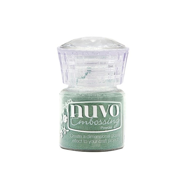 Nuvo Embossing Powder Pearled Pistachio
