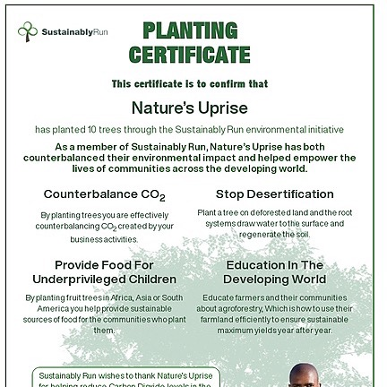 Nature on Uprise!#GrowWithUS Sustainability Showcase Page Link Thumbnail | Linktree