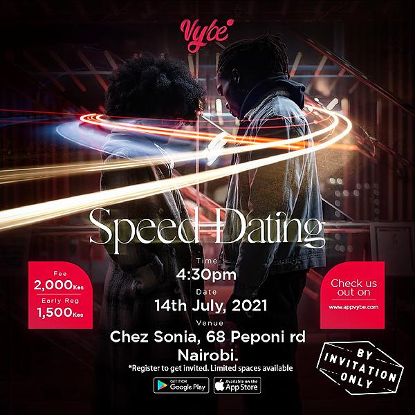@appvybe Speed Dating - Nairobi, Kenya Link Thumbnail | Linktree