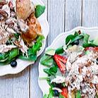 Chicken and Fruit Poppyseed Salad Recipe