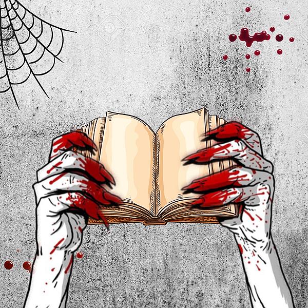 Gullis lästips 👻🧟♂️ Boktema - Skrämmande böcker Link Thumbnail   Linktree