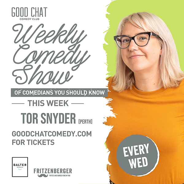 Get tickets to Wednesday June 23rd w/ MC Tor Snyder!